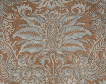 """Pair of Drapery Panels in """"Westcliff"""" by Laura Ashley,  84"""" or 96"""" length"""