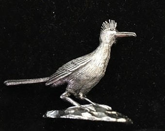 Vintage Road Runner Bird Pin
