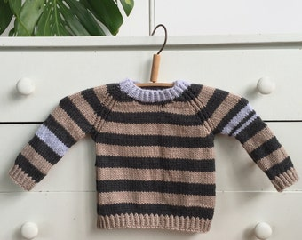 Ready-Set-Go sweater - Luxury yarn blend - size 1