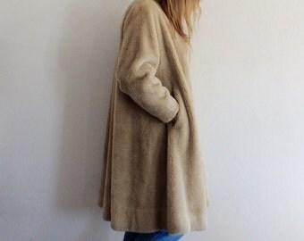 Faux Fur Coat Vintage