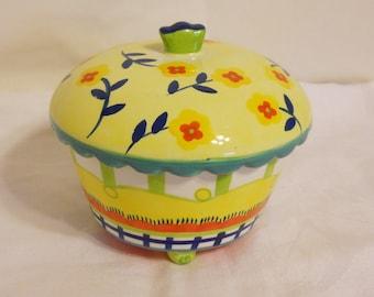 Covered Bowl Sugar Bowl Cupcakes and Cartwheels Kimberly Hodges