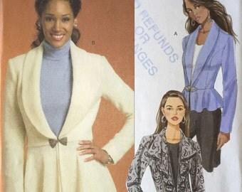 Butterick B5142 Sewing Pattern, Ladies Jackets, 16-18-20-22-24