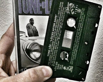 Tone Loc Loc'ed After Dark Cassette Tape