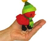 Cardinal Bird Pdf Email Knit PATTERN