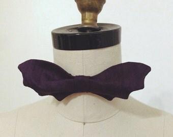 Purple Bat Bow Tie Sale