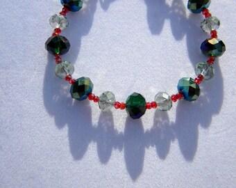 Christmas Bling bracelet