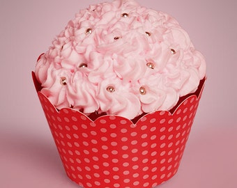 Polka Dot Cupcake Wrappers - 24ct