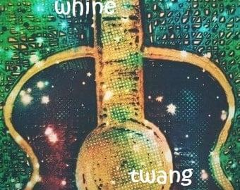 whine whine twang twang (green guitar)