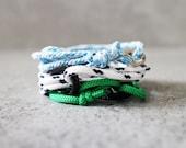 Cord Tiga - custom nylon cord wrap bracelet, adjustable