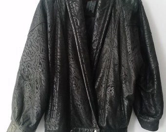 90s Leather Jacket