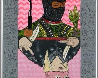 Masked Girl Mobb