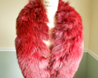 Fox Fur Collar / Red Fox Collar