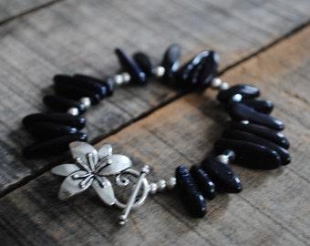 Starstone gypsy bracelet
