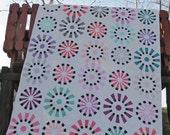 Modern Dresden Fan Plate Quilt pattern