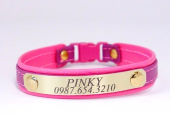 "Bold and Beautiful 5/8"" width Cat Collar Collection #197000"