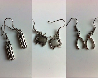 Random Earrings - 4 Sets of Earrings Available Click to View Options - This listing is for one pair of earrings