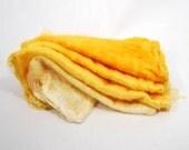 Mawatas Silk Hankies Orange Ombre - 36 grams