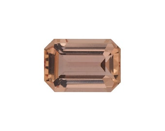 Loose 5x3mm Emerald/Octagon Faceted AA Imperial Precious Topaz