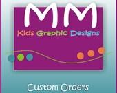 Custom Order for niranyousif - 60 2inch circle stickers