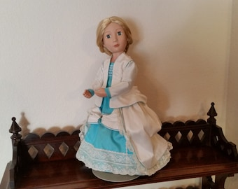 Promenade Dress for 16 inch doll