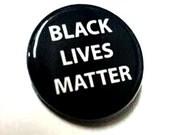 Black Lives Matter button 3-pack