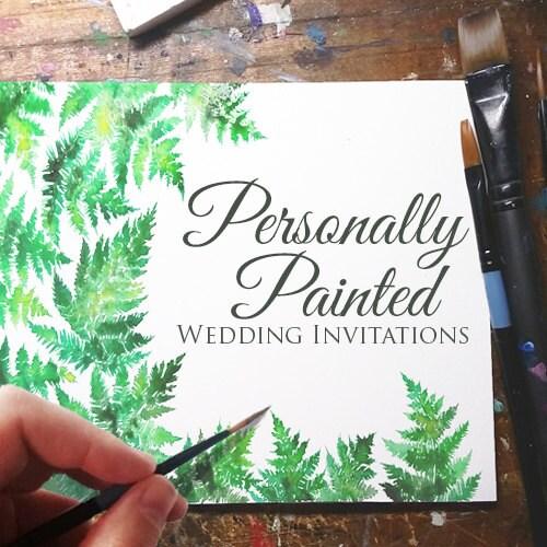 Printable Watercolor Wedding Invitation DIY Cheap Teal Aqua