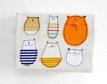 Cat Notebook : Lovely Stella A6 Notebook