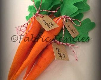 Mini carrot for Rudolf