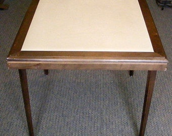 Wooden Folding Table by Stakmore Card Table Bunco Table Bridge Table Game Table Dining Table