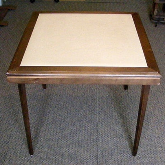 Wooden Folding Table By Stakmore Card Table Bunco Table Bridge