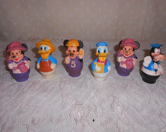 Disney Arco  Finger Puppet Toy Figures  Set of 6
