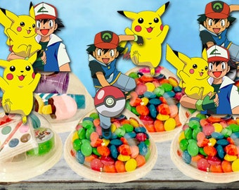 Pokemon Party Favors Candy Containers