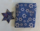 Custom Order for Connie Yvonne - Star of David Applique and 1 yard of  Star of David fabric