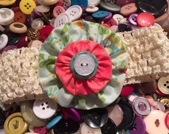 Yo Yo Headband Colorful--Free Shipping