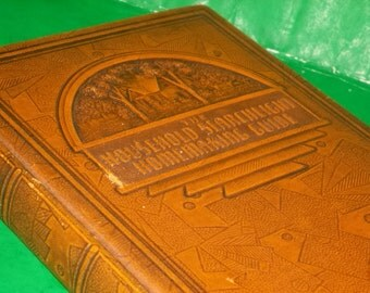 The Household Searchlight Homemaking Guide Embossed Hardcover Book