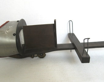 Antique Stereoscope Card Viewer/Stereoviewer