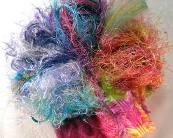 Art Yarn Assortment Fuzzy Wuzzy Colorway