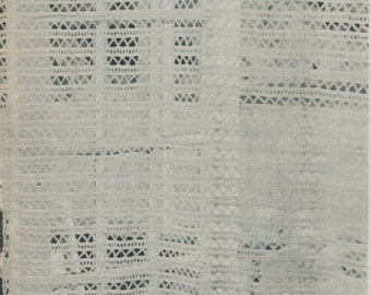 Curtains  crochet pattern. Instant PDF download!