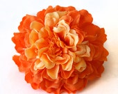 1 Orange Marigold - Arrtificial Flowers, Silk Flowers