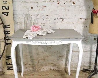 Painted Cottage Chic Shabby French Farm Table TBL65