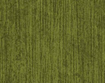 P and B Textiles Shades of Autumn Green Texture Fabric by the Yard  SAUT449-G
