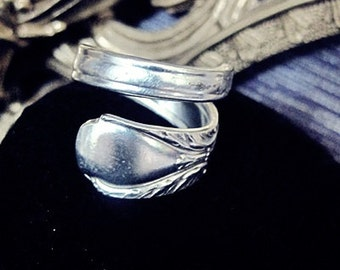 Spoon Ring Silverware Jewelry Size 9 1/2 Spoon Ring