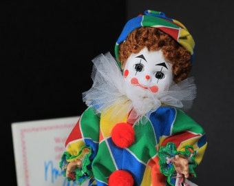 305,  Madame Alexander Dolls, Clown, Madame Alexander Vintage Doll