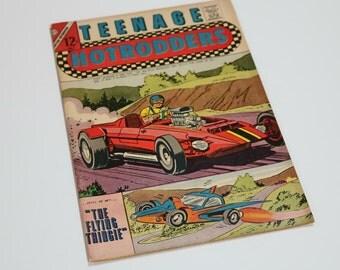 1967, Comic, HotRodders, Charlton Vintage Comics