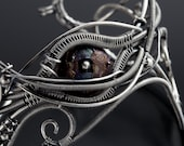 RESERVED- Sterling Silver Cuff- Thru the Looking Glass Bracelet