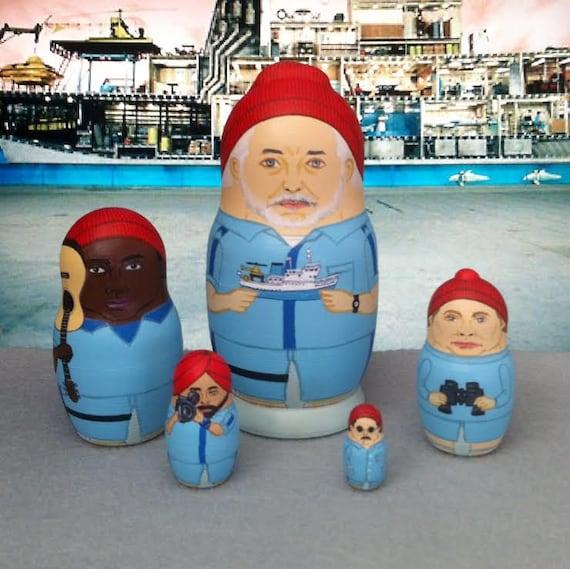 The (Mini) Life Aquatic Matryoshka Dolls