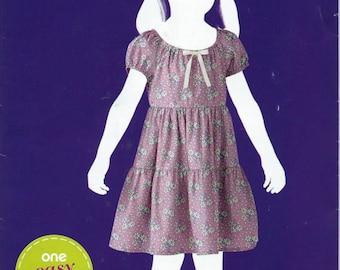 GIRLS' DressPattern by Simplicity #5226 (Sew Simple), Sizes 3-8 Uncut