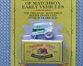 Matchbox Originals Massey Harris Tractor 1991 Unopened Authentic Recreations of Matchbox Early Vehicles, No. 4, A Moko Lesney Collectible