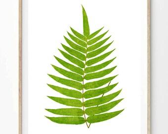 """Printable """"Fern Leaf"""" - Instant Digital Download! -- instant downloads, printable quote, printable art, 8 x 10, 8x10, A4"""