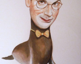 Buster Bluth mini painting